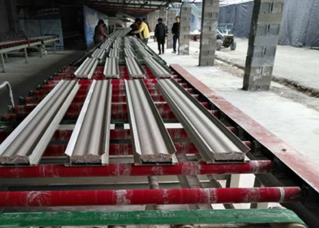 Gypsum line equipment manufacturers talk about installing plaster line precautions
